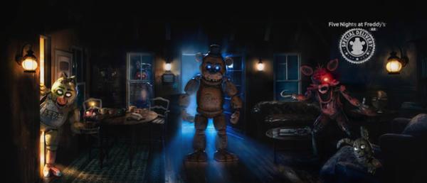 人气恐怖游戏《玩具熊的五夜后宫》AR版现已上线